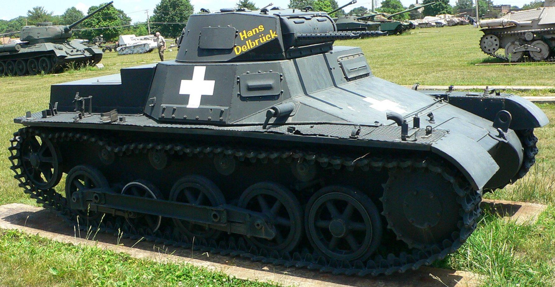 Panzerkampfwagen I Ausf.B (Pz.Kpfw.I Ausf.B).