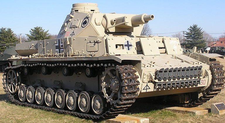 Средний танк Pz-IV Ausf.D