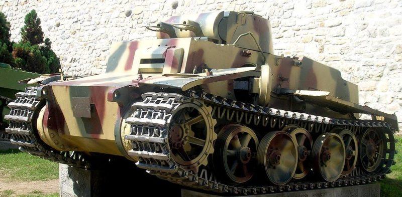 Легкий танк Pz.I Ausf.F