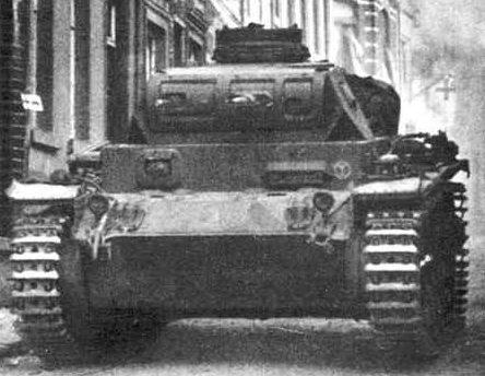 Средний танк Pz.III Ausf.E