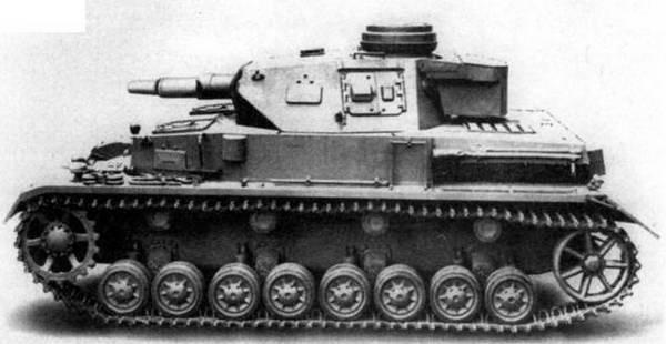 Средний танк Pz.IV Ausf.F1