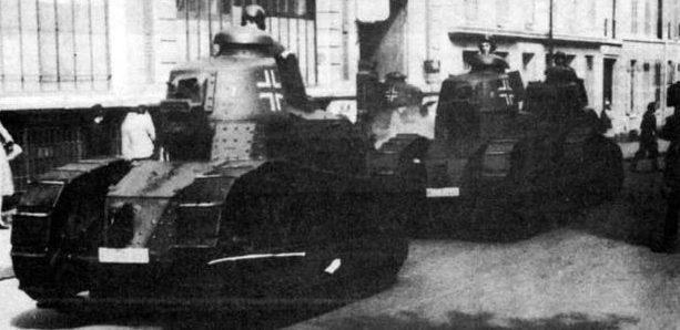 Легкий танк Pz.Kpfw. 18R 730(f)