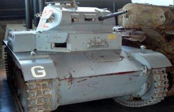 Легкий танк Pz.Kpfw. II ausfC