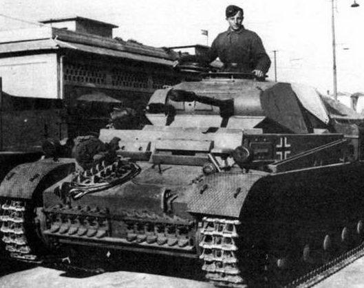 Легкий танк Pz.Kpfw. II ausf F
