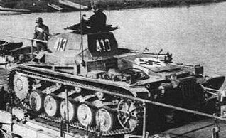 Легкий танк PzKpfw. II ausf B