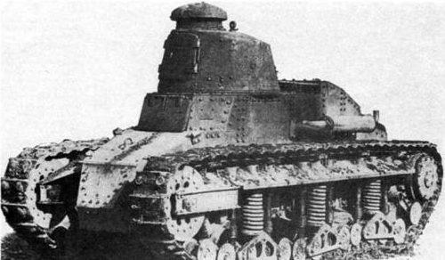 Легкий танк Renault NC-2
