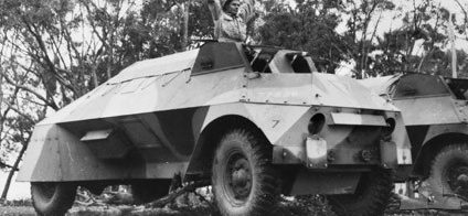 Легкий бронеавтомобиль Rover Light armoured car 1943