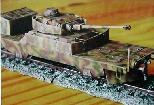 Модели бронедрезины Schwere SpZug