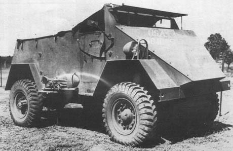 Легкий бронеавтомобиль Scout Car S1