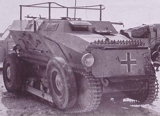Sd.Kfz.254 на гусеничном ходу