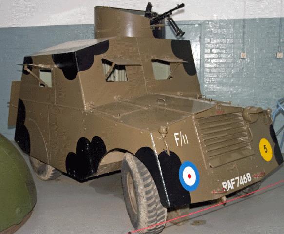 Легкий бронеавтомобиль Standard Car Beaverrette Mk-3