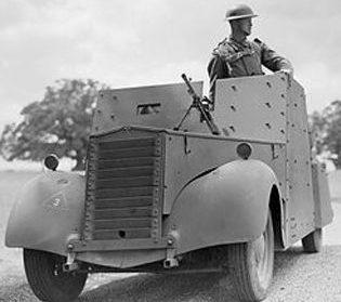 Легкий бронеавтомобиль Standard Car Beaverrette. Mk-I