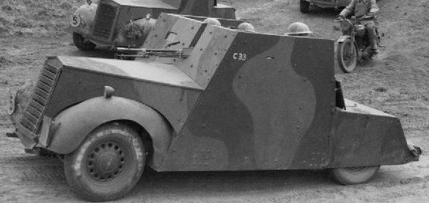 Легкий бронеавтомобиль Standard Car Beaverrette. Mk-II