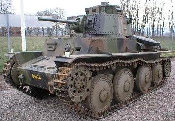 Легкий танк Strv m/4