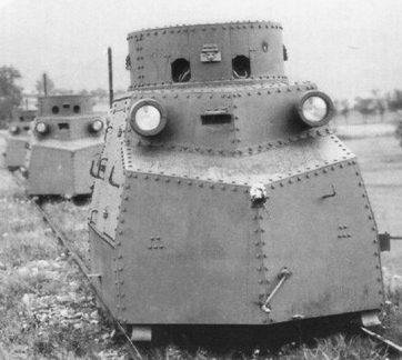 Легкая бронедрезина Tatra T-18 Zuk
