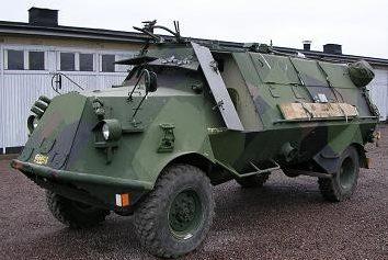 Бронетранспортер Tgbil m/42 SKP