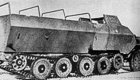 Полугусеничный БТР Type 1 Ho-Ha.