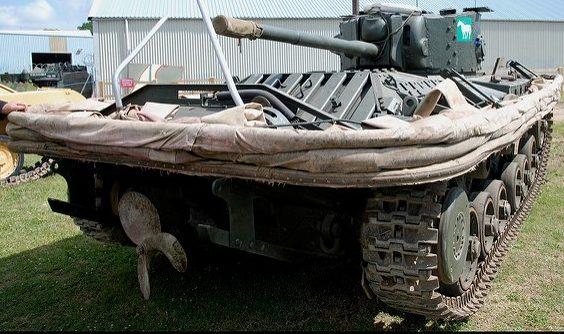 Плавающий танк «Valentine DD»