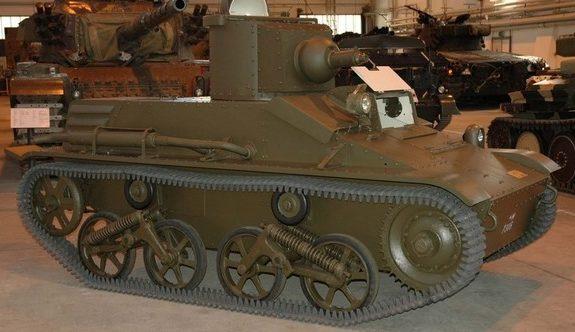 Легкий танк Vickers-Carden-Loyd mod. 1933 с пулеметным вооружением