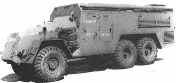 Бронеавтомобиль АЕС 0857