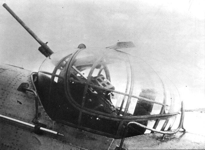 Авиационная пушка ШВАК в турельном варианте
