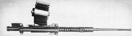 Авиапушка Type 99-2 в фиксированном варианте с барабанным питанием на 100 выстрелов