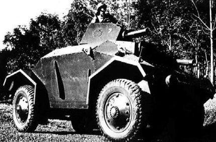 Легкий бронеавтомобиль Alvis Straussler АС-3
