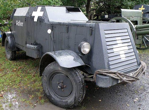 Легкий бронеавтомобиль Sd.Kfz.13/14.