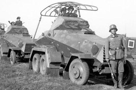 Средний бронеавтомобиль Sd.Kfz.232 (6-Rad)