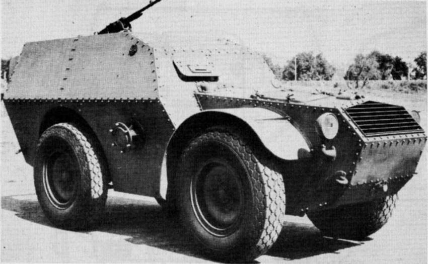 Бронетранспортер Carro protetto AS-37