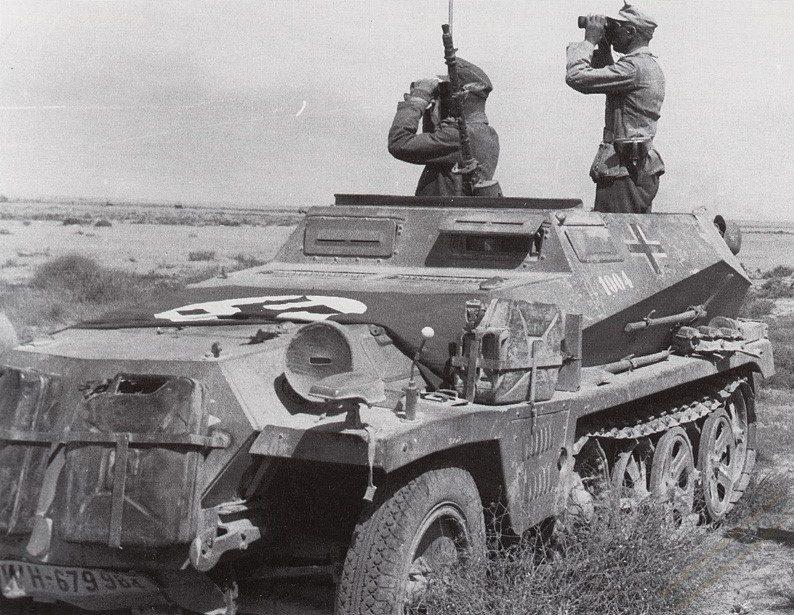 Полугусеничный бронетранспортер. SdKfz 250/1