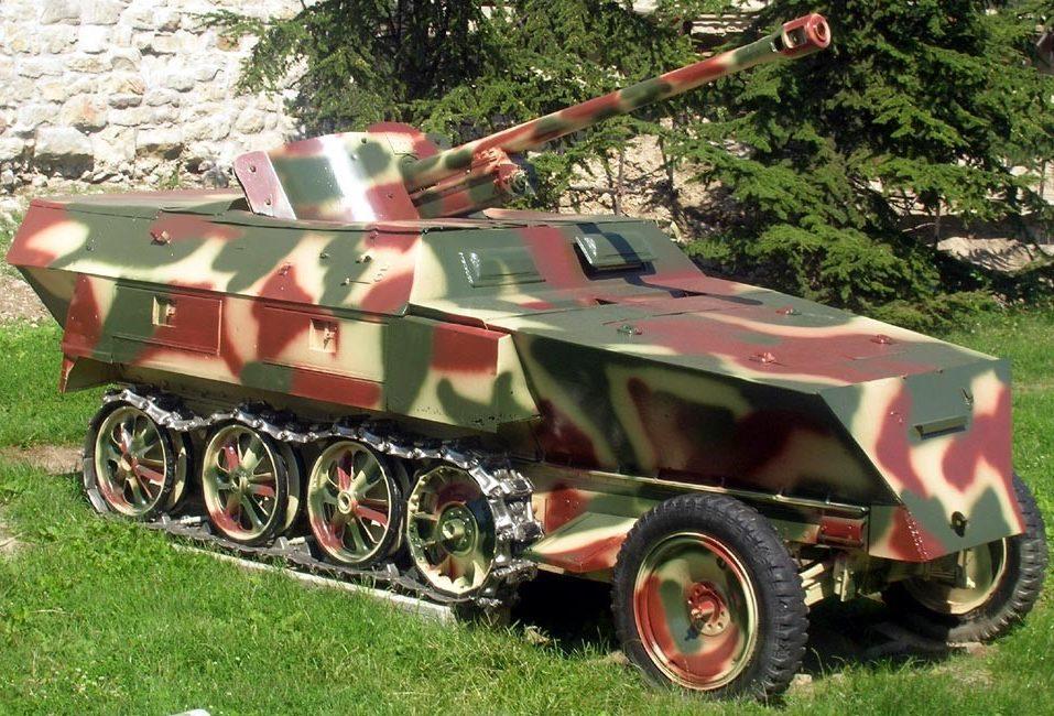 Полугусеничный бронетранспортер. SdKfz 250/10