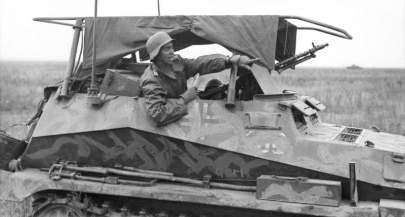 Полугусеничный бронетранспортер. SdKfz 250/3
