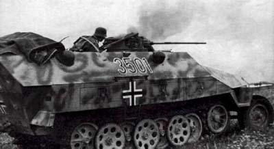 Бронетранспортер. SdKfz 251/1