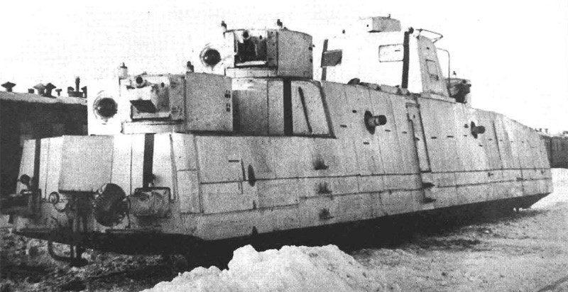 Мотоброневагон МБВ №01