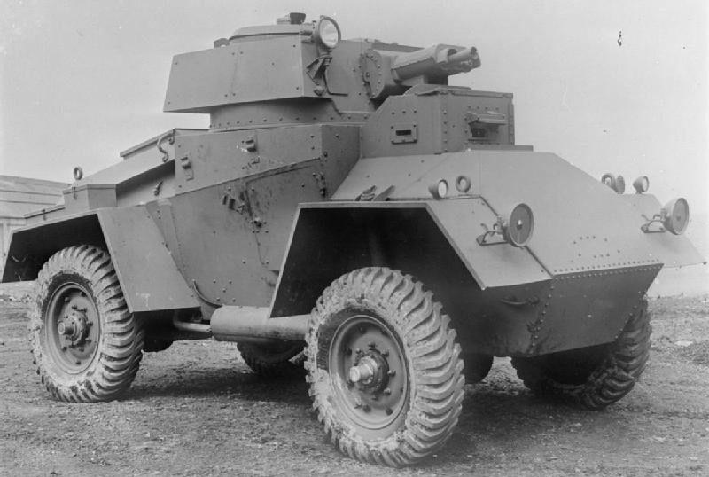 средний бронеавтомобиль Guy Armoured Car Mk-I
