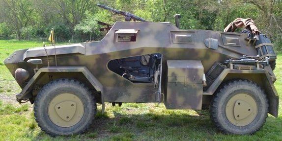 Средний бронеавтомобиль SdKfz 247 Ausf А