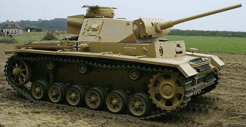 Средний танк Pz.III Ausf.М