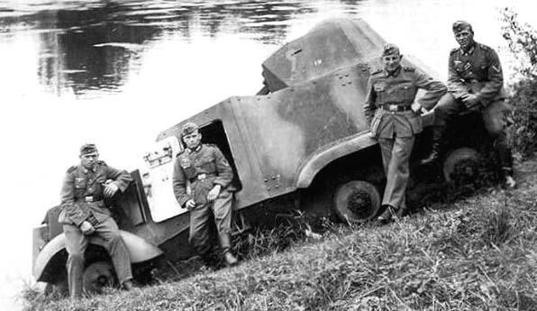 Средний бронеавтомобиль Autoametralladora 1937 (АМ-37)