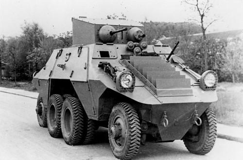Тяжелый бронеавтомобиль ADGZ (М-35).