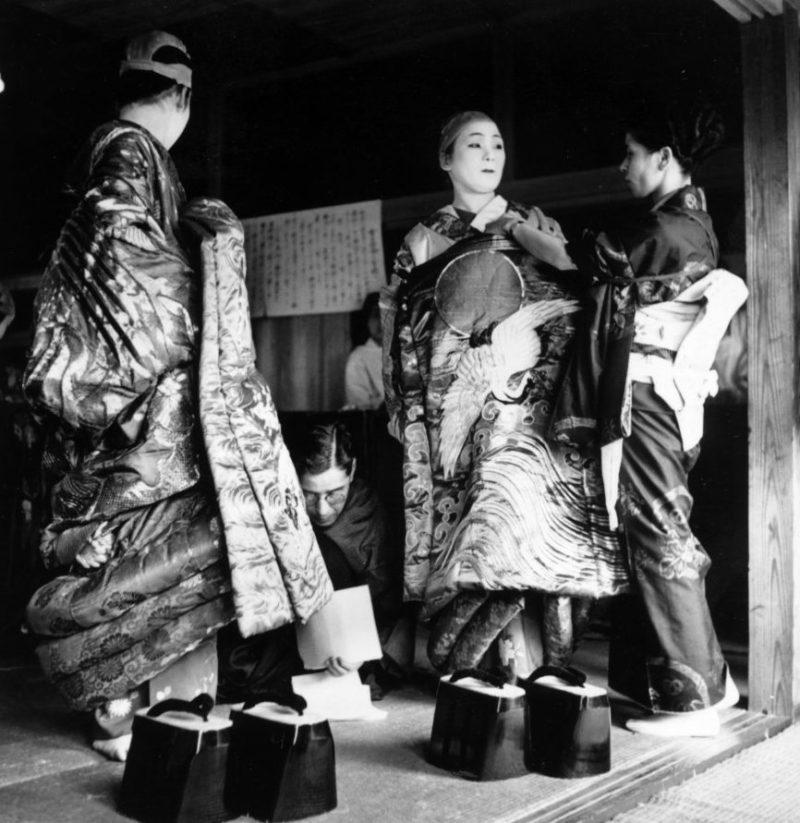 Публичный дом в Японии. 1946 г.
