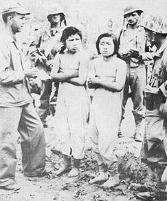 «Женщины утешения», захваченные армией США. Myitkyina 1944 г