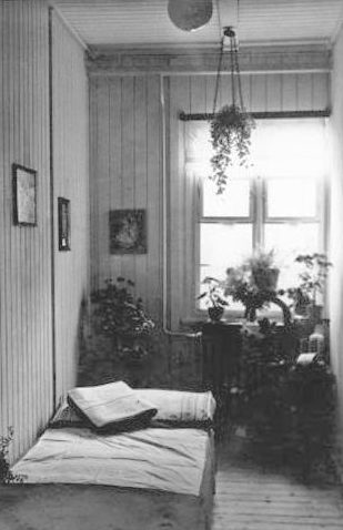 Комната в борделе концлагеря Бухенвальд