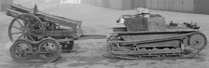 Танкетка Carden-Loyd Mk-VI