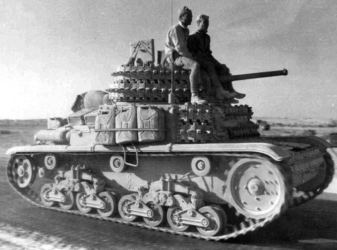Легкий танк Carro armato M-14/41