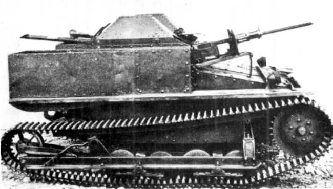 Танкетка Carro Veloce CV 29