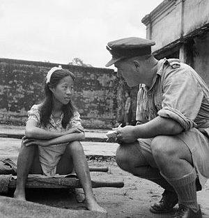 Допрос китайской секс-рабыни.1945 г.
