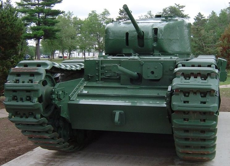 тяжелый танк Churchill І
