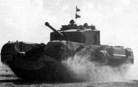 тяжелый танк Churchill ІII
