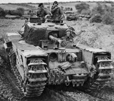 Тяжелый танк Churchill-VIIІ